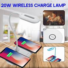 Bakeey 25led Wireless Charger Charging Touch by Chargers Bakeey 20w Dual Qi Wireless Phone Charger Usb