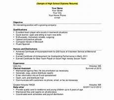 10 sle high school resume templates pdf doc free