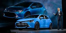 toyota neueste modelle 2019 toyota corolla hatchback has the goods to be a hit