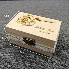 personalized wooden ring box rustic wedding ring bearer box engraved names ring box gift for