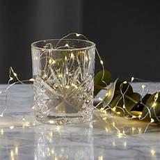 deco avec led guirlande micro led pour decoration verre ou vase 20 leds