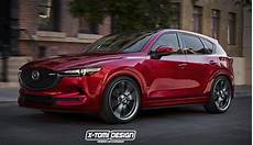 new mazda cx 5 rendered in mps guise
