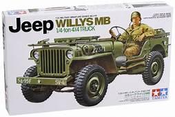 TAMIYA 35219 Jeep Willys MB 14 Ton 4x4 Truck 135