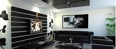 salon meuble noir d 233 coration salon en noir et blanc d 233 coration salon
