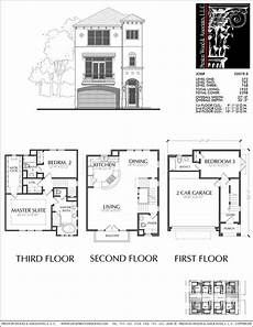 condominium house plans three story townhouse plan e0078 b condo floor plans