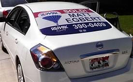 Real Estate Vehicle Wraps  Thompson Print