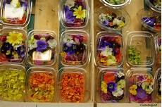le de clementine salade aux fleurs comestibles