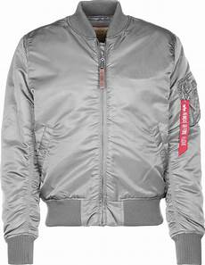 alpha industries ma 1 vf 59 bomber jacket silver