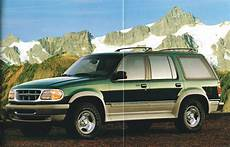 all car manuals free 1995 ford explorer electronic toll collection 1995 ford explorer brochure catalog w color chart eddie bauer limited xlt ebay
