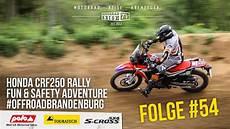 honda crf250 rally testbericht offroad in brandenburg