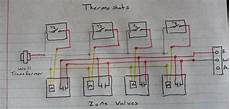 honeywell boiler wiring diagram boiler where do i connect my c wire from my thermostat when there are two transformers home