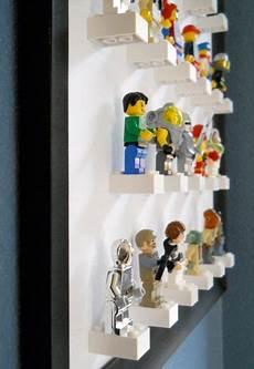 lego figuren selber machen coole idee zum aufbewahren lego figuren eingerahmtes