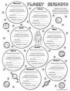 4th grade space science worksheets 13406 free planet research worksheet science worksheets earth space science elementary science