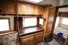 wohnwagen innen neu gestalten wie ich einen 30 jahre alten hobby wohnwagen aufgeh 252 bscht habe