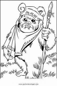 Malvorlagen Wars Gratis Starwars Ewoks 1 Gratis Malvorlage In Science Fiction