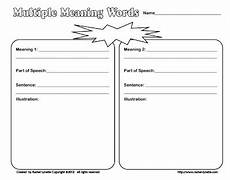 let s talk speech and language multiple meanings library