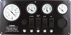 Marine Instrument Panel Inboard Or Inboard Outboard With