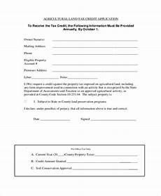 free 10 credit application form sles