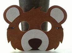 brown mask by icrownyou etsy 12 free shipping playful festive and fun