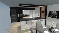 cuisine moderne cuisine moderne blanche bois et