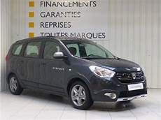 voiture occasion dacia lodgy blue dci 115 7 places stepway