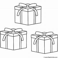 gifts coloring page
