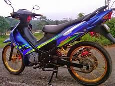 Modifikasi Satria 2 Tak by Modifikasi Motor Suzuki Satria 2 Tak Thecitycyclist