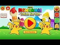 Mewarnai Tokoh Kartun Pikachu