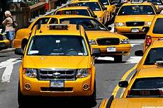 new york taxi drivers strike in protest at donald s