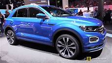 t roc r 2018 volkswagen t roc r line exterior and interior