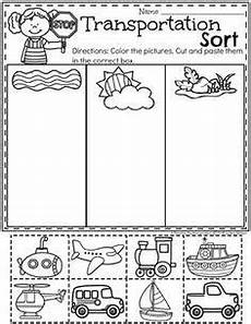 transportation worksheets transportation preschool activities transportation worksheet