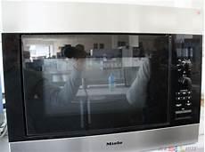 miele m8260 1 einbau mikrowelle 900 watt edelstahl ebay