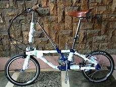 Sepeda Modifikasi Keren by Jual Sepeda Lipat Dahon California Modifikasi Di Lapak