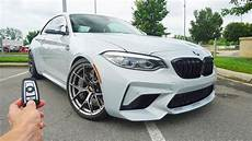 2019 bmw m2 competition start up exhaust test and review youtube