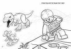 Lego Jurassic World Ausmalbilder Lego Jurassic World Dinosaurs On The Run Book By