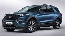 2020 ford explorer phev revealed in europe with 450 hp