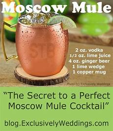 the secret to a moscow mule cocktail moscow