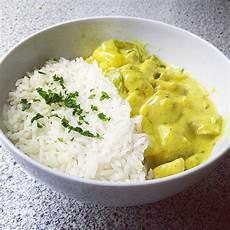 Curry Mit Reis - h 228 hnchen ananas curry mit reis rezept mit bild chefkoch de