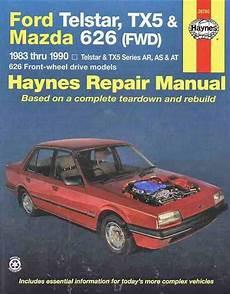 auto manual repair 1984 mazda 626 parking system ford telstar tx5 mazda 626 fwd 1983 1990 haynes owners service repair manual 1563922770