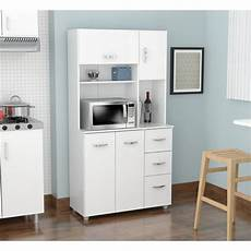 storage furniture for kitchen shop inval america llc laricina white kitchen storage