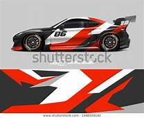 Find Car Wrap Design Concept Abstract Racing Stock Images