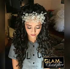 glambychristopher for quince 241 earas quinceanera hairstyles quince hairstyles prom hair