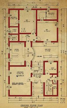 one kanal house plan house floor plan 1 kanal house