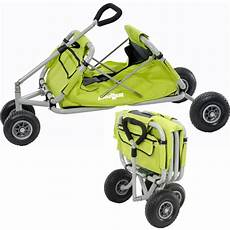 chariot de transport pliable buggy leader loisirs