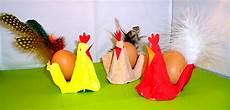 Eierkarton Basteln Ostern - hahn und henne aus eierkarton ostern basteln meine