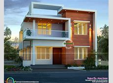 Cute modern house architecture   Elevation for house