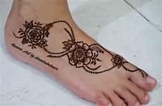 100 Gambar Henna Tangan Kaki Pengantin Motif Corak