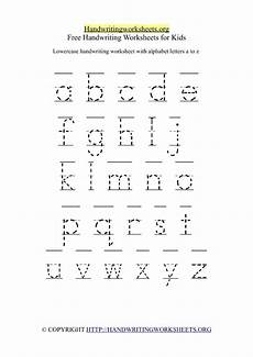 free alphabet handwriting worksheets a to z 21684 a z tag handwriting worksheets org
