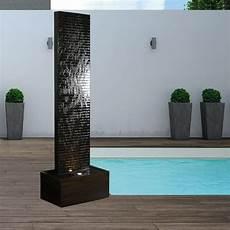 terassenbrunnen wasserwand granit vienne nero 30