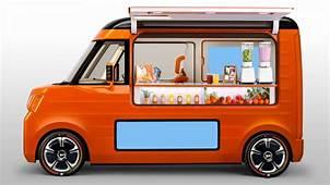 Wallpaper Daihatsu Tempo Concept Future Car Orange